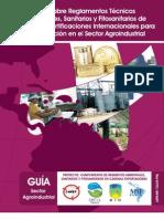 Guía sobre Reglamentos Técnicos Ambientales, Sanitarios y Fitosanitarios de Panamá y Certificaciones Internacionales para la Exportación en el Sector Agroindustrial