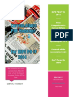 FREE IBPS PO MT IV 2014 Current Affairs Magazine Exam Pundit