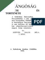 Szépvízi Balás Béla - A Csángóság Eredete És Története 1934.