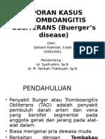 235134919 Tromboangitis Obliterans