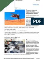 Dengue Fever Info