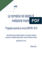 La norma UNI 9795-2013