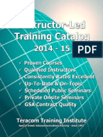 Teracom Training Institute Ilt Catalog