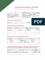 Declaración de rentas, bienes e intereses de Francisco J. Fernández Mañanes