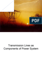 Transmission Lines as Components of Power System