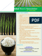 13th January,2015 Daily Global Rice E_Newsletter by Riceplus Magazine