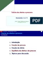 P02 Teoria Da Oferta e Procura