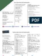 Teoría y Práctica de Factorización.pdf