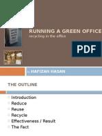 Running a Green Office