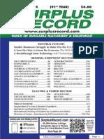 FEBRUARY 2015 Surplus Record Machinery & Equipment Directory