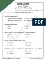 Asean Quiz 52