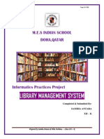 IP project: Library Management System   Java (Programming
