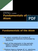 Jan 14_Fundamentals of an Atom