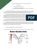 bowen reaction series untuk volcanic