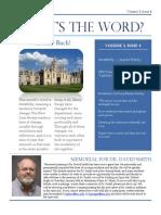DEFL Newsletter - January 2015
