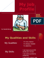 My Job Profile