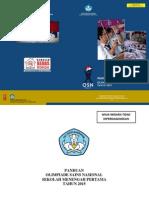 Buku Panduan OSN SMP 2015