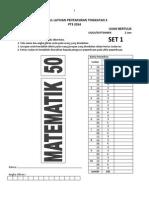 2) SET 1 Latihan PT3 (Matematik) 2014 - Set 1