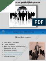 Proje Yönetimi Ve Girişimcilik - Sakarya Üniversitesi - Ders Slaytı