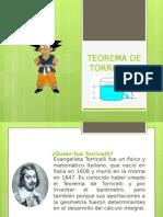 Exposicion Teorema de Torricelli