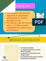 Expo Fármaco Tocolíticos y Oxitócicos