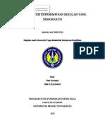 makalah manajemen pendidikan (kepala sekolah demokratis)