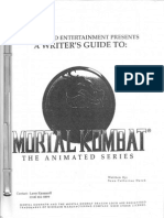 mortal kombat defenders of the realm series bible