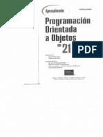 Java.21 Lecciones Avanzadas.2002.Programacion Orientada a Objetos