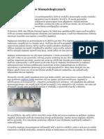Historia Implantów Stomatologicznych