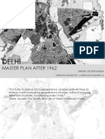Delhi Master Plan 1962 Analysis