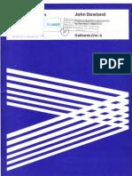 DOWLAND - Galliards (Vol. I)