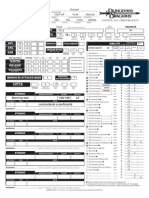 skilad character sheet