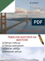 Predavanja III Mostovi