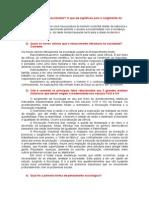 Avaliação Sociologia 2014