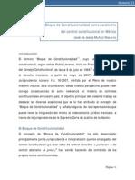 Mexico - Bloque de Constitucionalidad