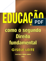 Educação Como o Segundo Direito Fundamental