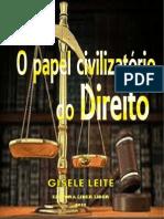 O Papel Civilizatório Do Direito