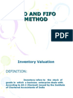Lifo and Fifo Method