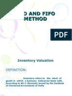 Lifo and Fifo Method