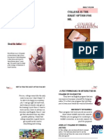 college brochure project