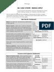maria financial case study