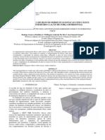 Analise Numérica de Blocos Sobre Duas Estacas Com Cálice Embutido Submetido à Ação de Forças Horizontais
