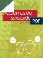 Hablemos de sexualidad. Guía didáctica