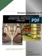Legislacion y Normatividad Internacional Para Envases y Embalajes logistica internaciona