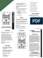 PSMR1 Manual