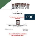Jbml- Ratio Analysis