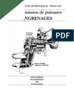 Transmission de Puissance Engreages 2 Bac Science Dingenieur