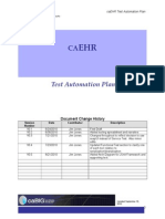 Test Automation Plan - CaBIG-1