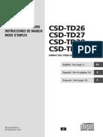 AIWA CSD-TD26