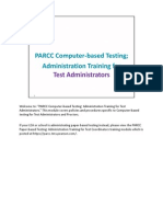 parcc test administration training cbt for ta